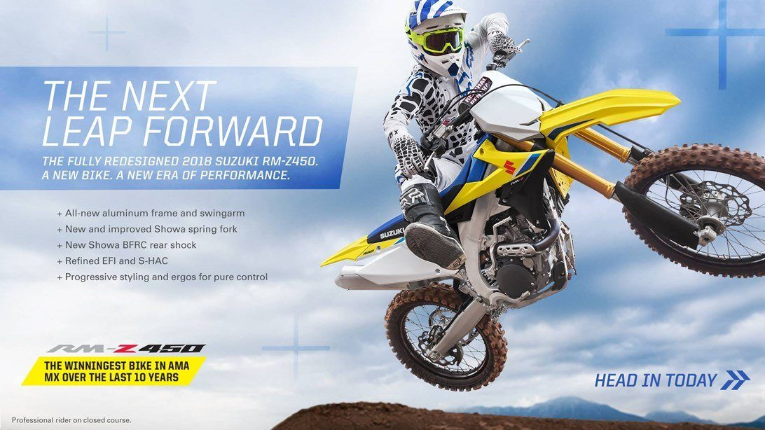 Suzuki - Rev Up for Spring for Motocross and Offroad
